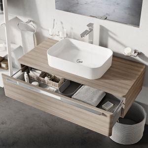 Ceramic Slim - nablatowe umywalki ceramiczne cienkościenne/Ravak Polska. Produkt zgłoszony do konkursu Dobry Design 2020.