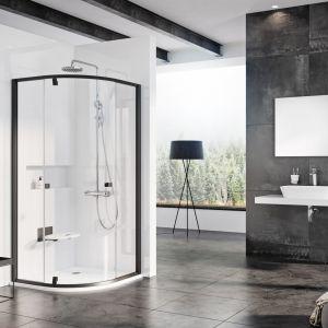Pivot - kabiny i drzwi prysznicowe/Ravak Polska. Produkt zgłoszony do konkursu Dobry Design 2020.