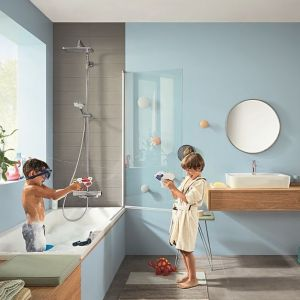 Nowa linia pryszniców Croma E. Fot.Hansgrohe
