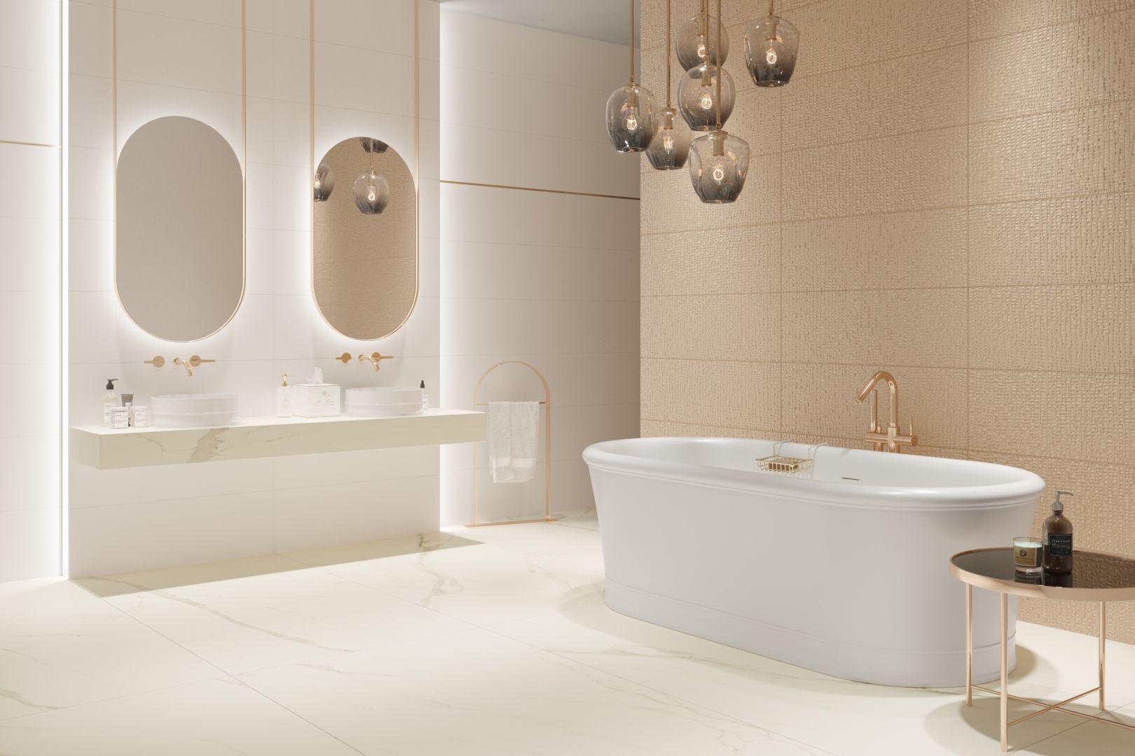 Kolekcja Golden Hills/Ceramika Paradyż. Produkt zgłoszony do konkursu Dobry Design 2020.
