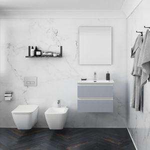 Strada II to podwieszana miska w.c. wyposażona w efektywny system spłukiwania AquaBlade zapewniający maksymalną higienę toalety. Fot. Ideal Standard