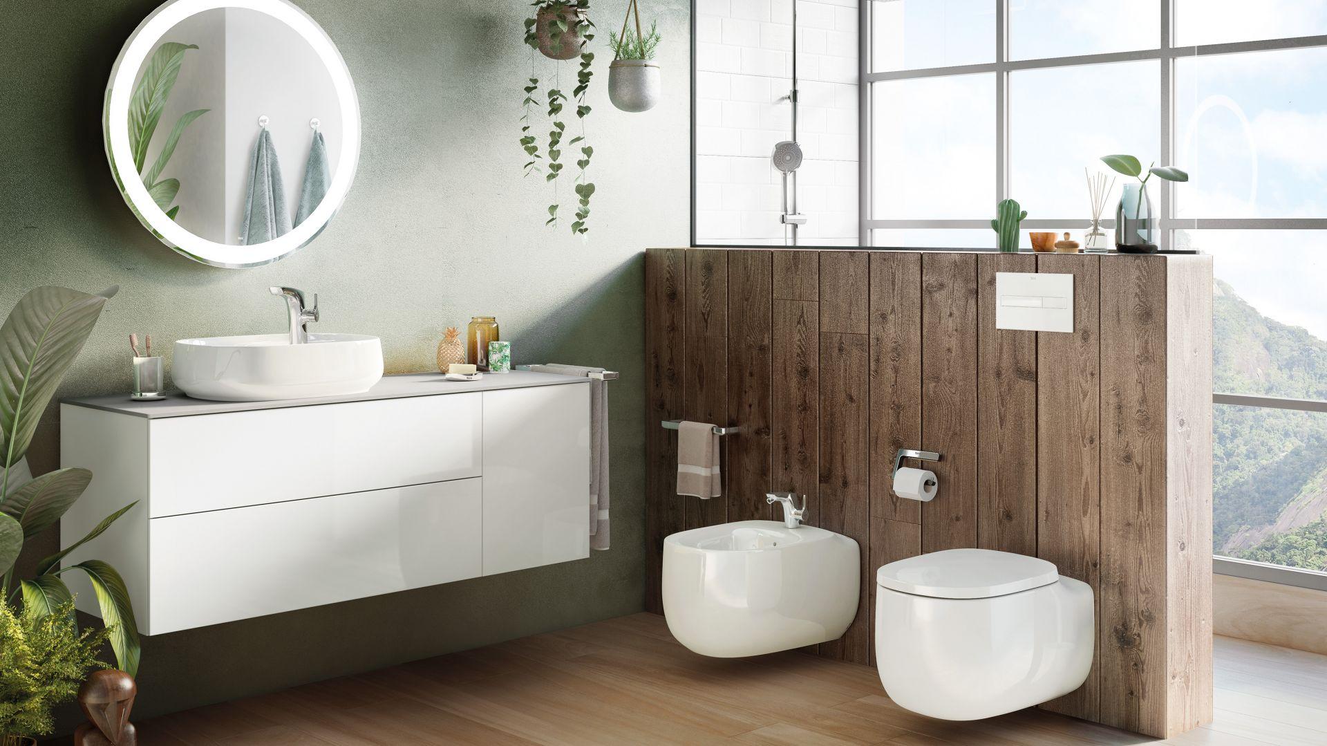 Kolekcja wyposażenia łazienki Beyond oferuje miski w.c. w technologii Rimless; brak rantu umożliwia zachowanie maksymalnej higieny i czystości. Fot. Roca