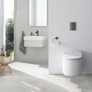 Toaleta myjąca Sensia Arena; technologia AquaCeramic zapobiega rozwojowi bakterii; powłoka HyperClean i samooczyszczające się dysze gwarantują higienę. Fot. Grohe