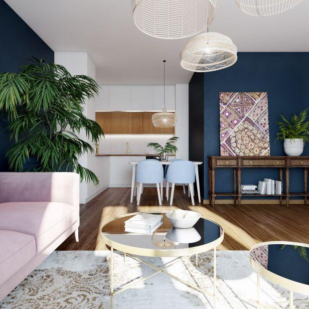 Przytulne mieszkanie: zobacz piękny projekt wnętrza