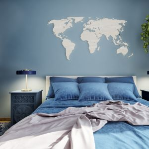 Piękne, przytulne mieszkanie: sypialnia. Projekt: Marta Ogrodowczyk, Marta Piórkowska. Wizualizacja: Elżbieta Paćkowska