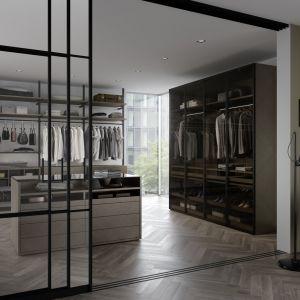 Garderoba walk-in. Fot. Raumplus
