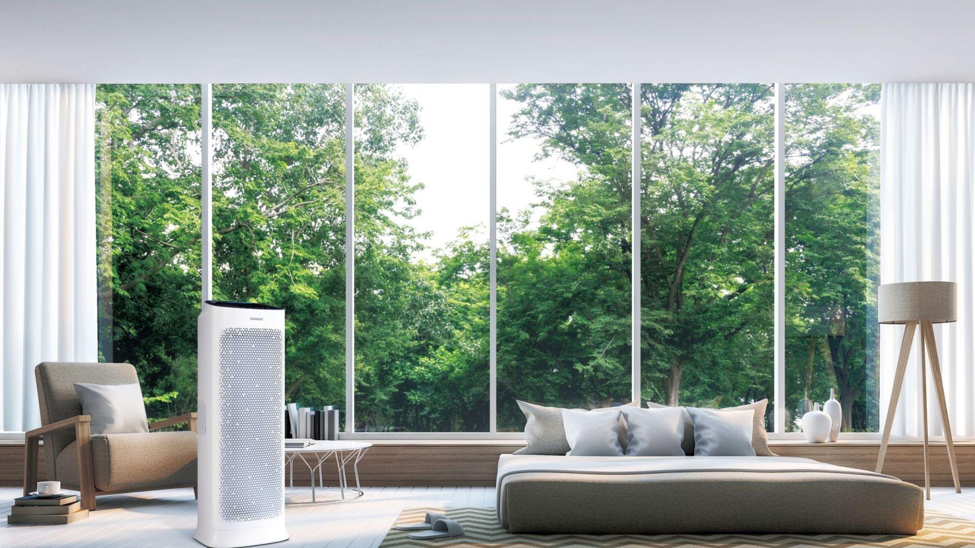 Oczyszczacze powietrza w domu. Fot. Samsung