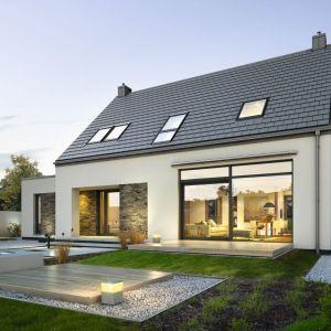 Nazwa projektu: Atrakcyjny 3A. Projekt wykonano w pracowni: Domy z Wizją. Fot. Domy z Wizją