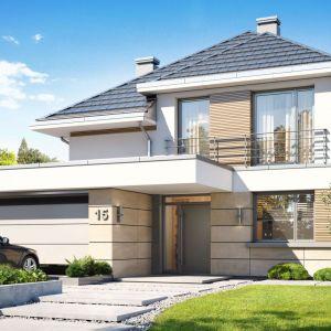 Nazwa projektu: Dom Oszust. Projekt wykonano w pracowni MG Projekt. Fot. MG Projekt