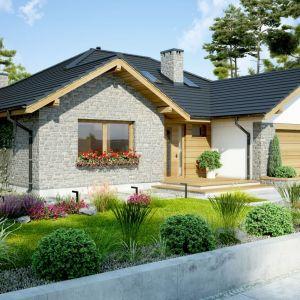 Nazwa projektu: Dom Arizona. Projekt wykonano w pracowni Dobre Domy. Fot. Dobre Domy