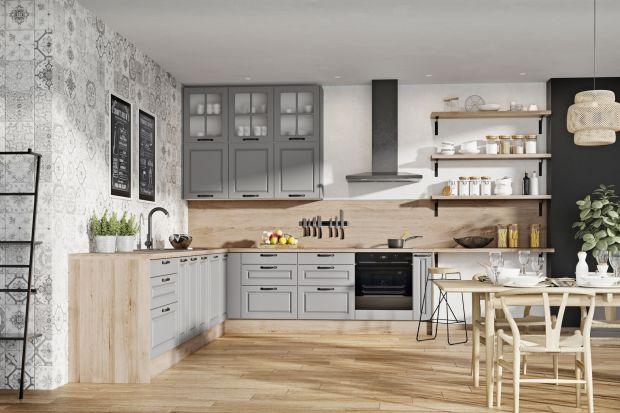 Modna kuchnia - otwarte półki są na topie