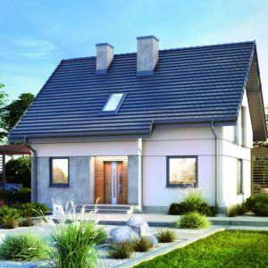 Dom z garażem. Projekt: Dom w zielistkach. Fot. Archon +
