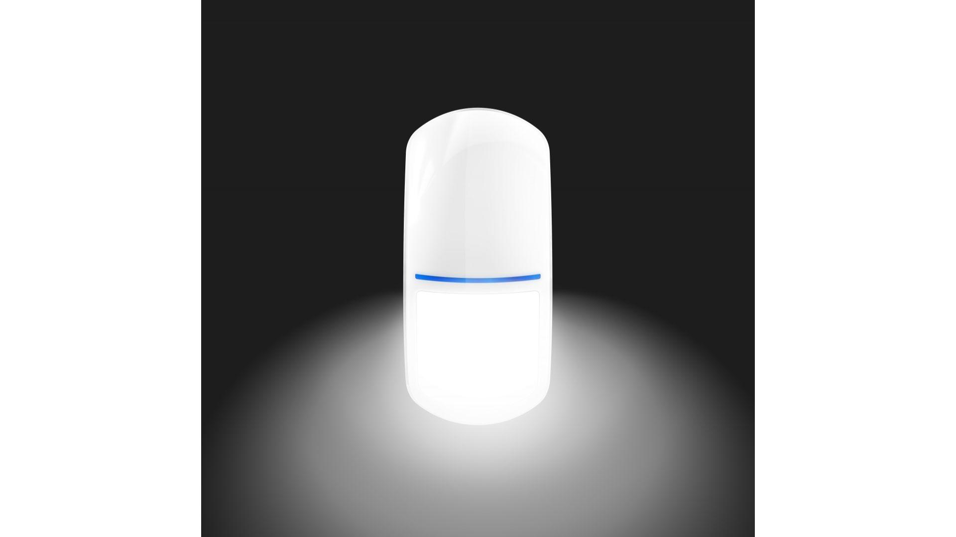 Czujka Slim-Pir-Luna/Satel. Produkt zgłoszony do konkursu Dobry Design 2020.