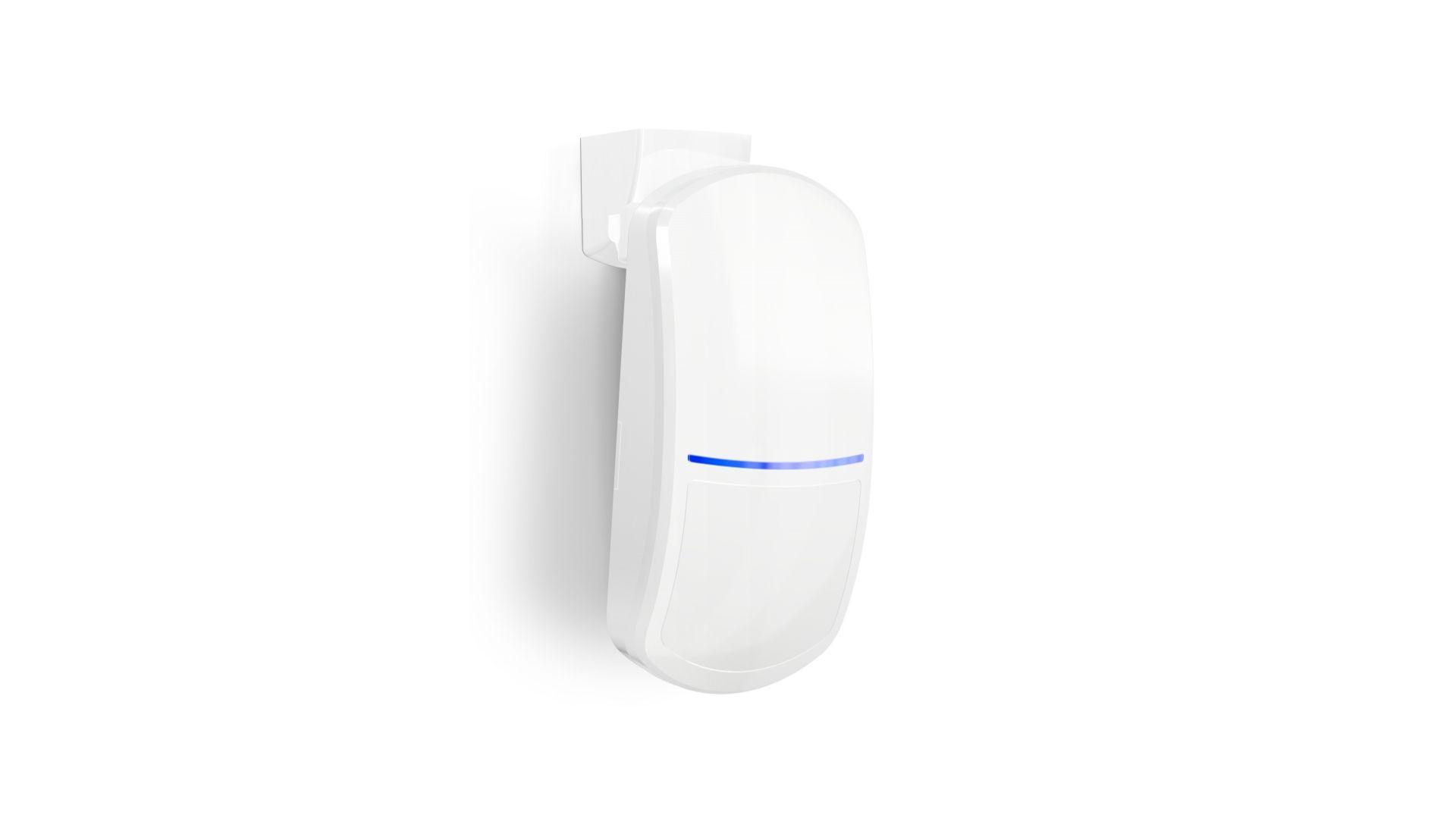 Czujka Slim-Dual-Pro/Satel. Produkt zgłoszony do konkursu Dobry Design 2020.