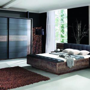 Łóżko tapicerowane z kolekcji Recover dostępne w ofercie Agata Meble. Fot. Agata Meble
