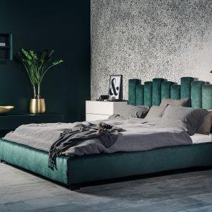 Łóżko tapicerowane z kolekcji Tiramisu dostępne w ofercie firmy MTI Furninowa. Fot. MTI Furninowa