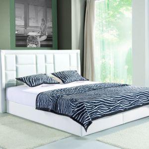 Łóżko tapicerowane z kolekcji Linea dostępne w ofercie firmy Libro. Fot. Libro