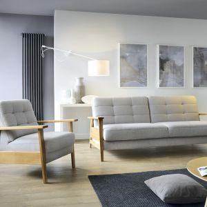 Szara sofa z kolekcji Olaf z kolekcji Orly marki Sweet Sit dostępny w ofercie firmy Gala Collezione. Fot. Gala Collezione