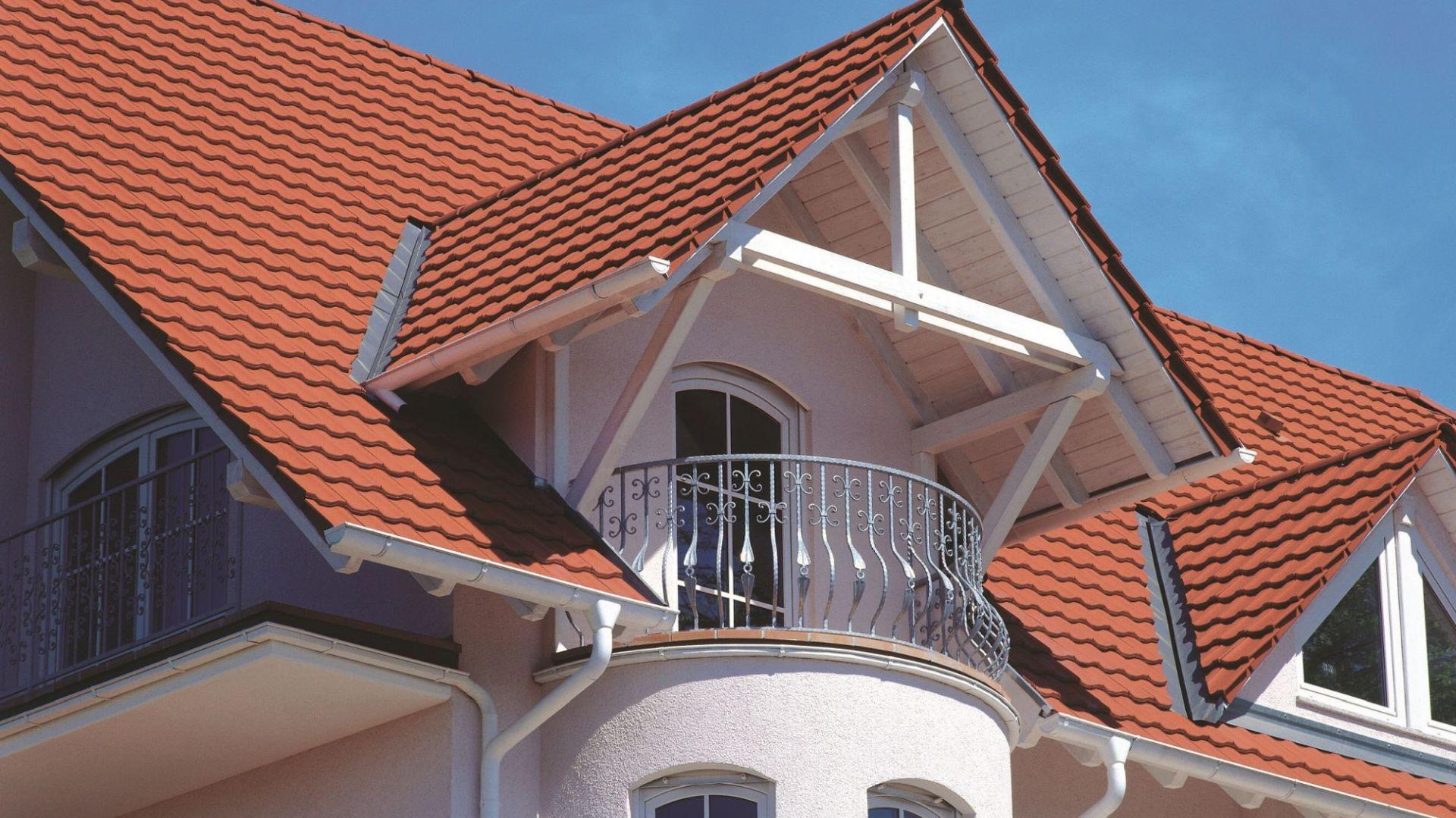 Dachówka betonowa. Fot. Braas