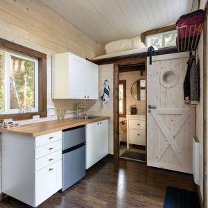 Kuchnia w stylu loft. Fot. Radex, drzwi LOFT Xo