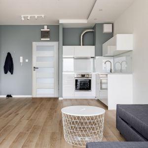 Kuchnia w stylu loft. Fot. Radex, drzwi Tossa 5S
