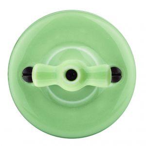 Włącznik porcelanowy Garby w pastelowej kolorystyce/Produkt Design. Produkt zgłoszony do konkursu Dobry Design 2020.