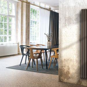 Grzejnik kolumnowy Delta Laserline/Purmo.  Produkt zgłoszony do konkursu Dobry Design 2020.