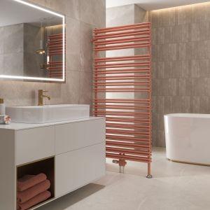Grzejnik łazienkowy Mauritius/Purmo. Produkt zgłoszony do konkursu Dobry Design 2020.