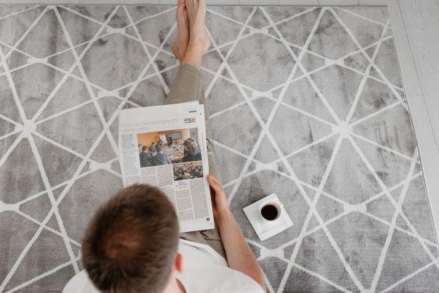 Przytulne dodatki - nowy dywan z geometrycznym wzorem