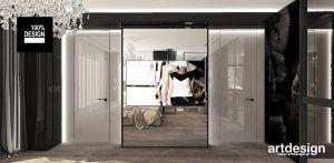 nowoczesna sypialnia z nutą glamour