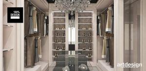 luksusowa garderoba przy sypialni