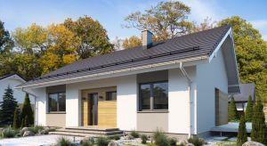 Efi to zgrabny parterowy dom o powierzchni użytkowej 90,68 m2. Będzie to idealny projekt dla rodziny, gdzie wszystkie pomieszczenia zlokalizowano na jednej kondygnacji.
