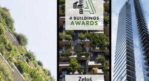 Konkurs 4 Buildings Awards 2019 wkracza w kolejny etap. Dziękujemy za ogromną liczbę zgłoszeń. Wkrótce przedstawimy TOP w każdej kategorii i uruchomimy głosowanie dla Czytelników naszych portali, które potrwa do 25 października 2019 roku. Zwyci