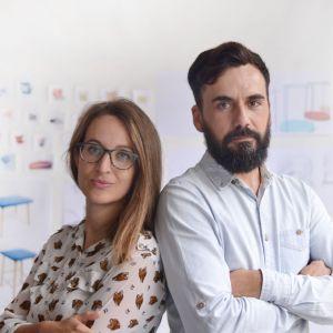 Laxmi Nazabal i Lucas Abajo, założyciele Muka Design Lab (Blbao, Hiszpania)