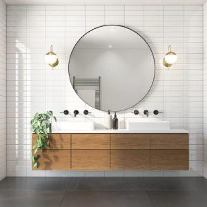Instagramowa łazienka za mniej niż 2 tysiące złotych. Fot. Hapipożyczki