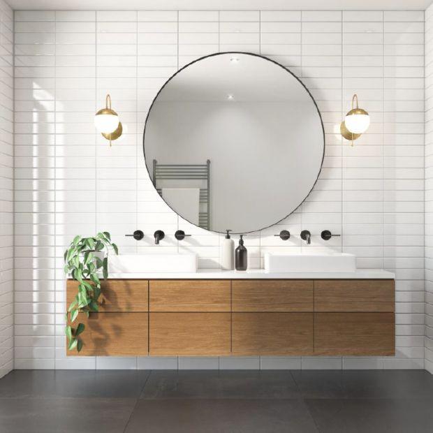 Instagramowa łazienka za mniej niż 2 tysiące złotych