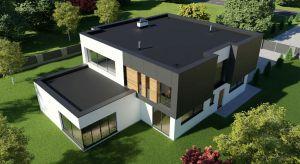Budownictwo modernistyczne to nie tylko budynki z dachem płaskim budowane na planie kwadratu. Budując dom dwukondygnacyjny z dachem skośnym również można osiągnąć efekt modernistycznej bryły, ale pod warunkiem zachowania prostoty i minimalizmu.
