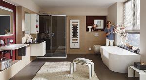 Urządzając łazienkę warto postawić na produkty z jednej, kompletnej serii, która pomoże stworzyć spójną wizualnie aranżację łazienki.