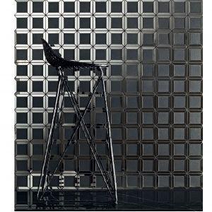 Mozaika Lucid Square Black. Fot. Tubądzin
