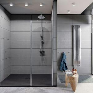 W serii Capital składane drzwi do wnęki prysznicowej, ze szkła 6 mm z powłoką MaxiClean. Fot. Roca