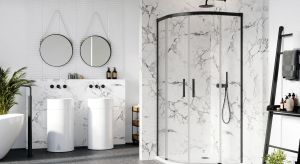 Nowoczesne kabiny prysznicowe wyróżniają się minimalistycznymi formami, a jednoczenie zapewniają maksimum komfortu. Do wyboru są modele do narożnika, drzwi do wnęki czy modne ścianki walk-in.