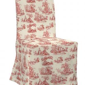 Dekoracja stołu - sukienka na krzesło Henriksdal. Fot. Dekoria