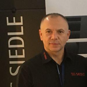 Mariusz Trzeciak – Country Manager z firmy S. Siedle & Söhne Telefon- und Telegrafenwerke OHG, partnera wydarzenia 4Buildings