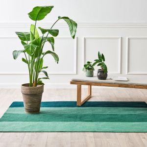 Dywan na balkon/taras, z recyklingu, w kolorze zielonym/Carpets&More