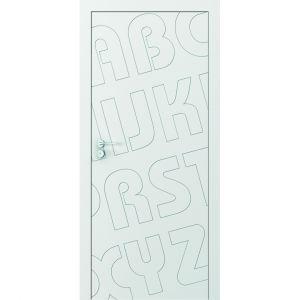 Drzwi Porta Vector Premium z bezprzylgową ościeżnicą Level/Porta. Produkt zgłoszony do konkursu Dobry Design 2020.