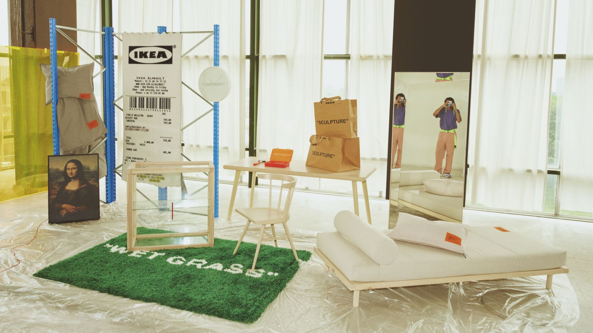 Kolekcja Markerad to mieszanka przedmiotów, które idealnie sprawdzą się przy urządzaniu pierwszego mieszkania. Fot. IKEA