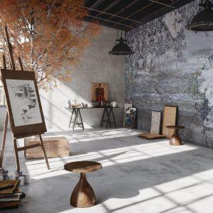 Tapety Tecnografica Italian Wallcoverings, wzór Hokkaido. Carpet Studio. Fot. Carpet Studio