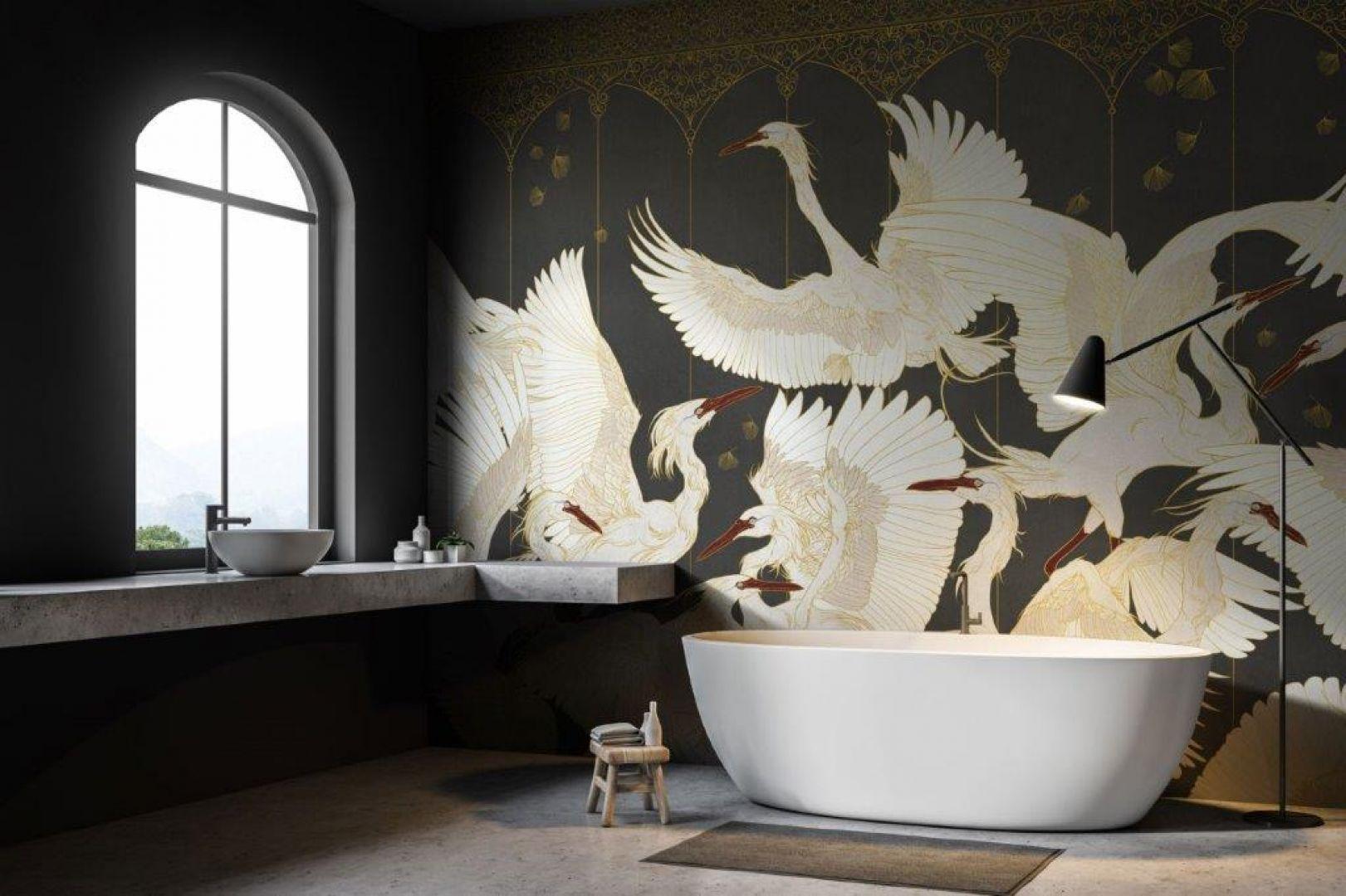 Tapety Tecnografica Italian Wallcoverings, wzór La-Danse. Carpet Studio. Fot. Carpet Studio