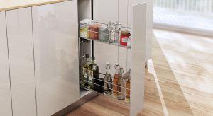 Praktyczne carga, wygodne relingi, funkcjonalne organizery. Warto je mieć. Dzięki nim każdy aneks kuchenny zyska w pełni komfortową przestrzeń na przechowywanie.