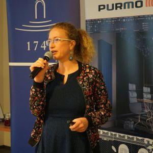 Gość specjalny spotkania, Magdalena Górska z pracowni eKodama.